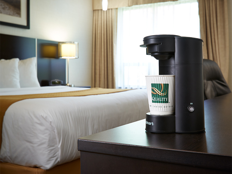 Coffee Maker in Rooms